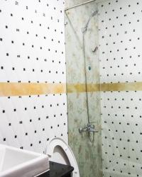 <p>Glass wall shower</p>